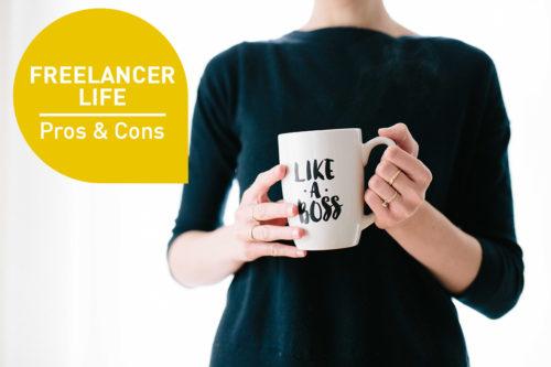 Den Traum vom Freelancer-Life leben? Das sind die Pros und Cons!