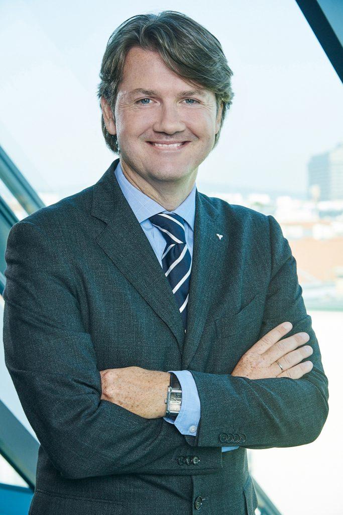 Volksbank Generaldirektor DI Gerald Fleischmann