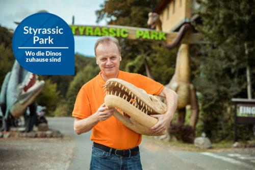 Die Dinos sind los im Styrassic Park